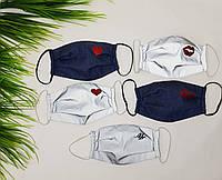 Защитная маска для лица женская светоотражающая
