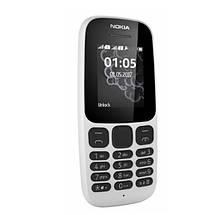 Мобильный телефон Nokia 105 Dual Sim New White (A00028316), фото 2