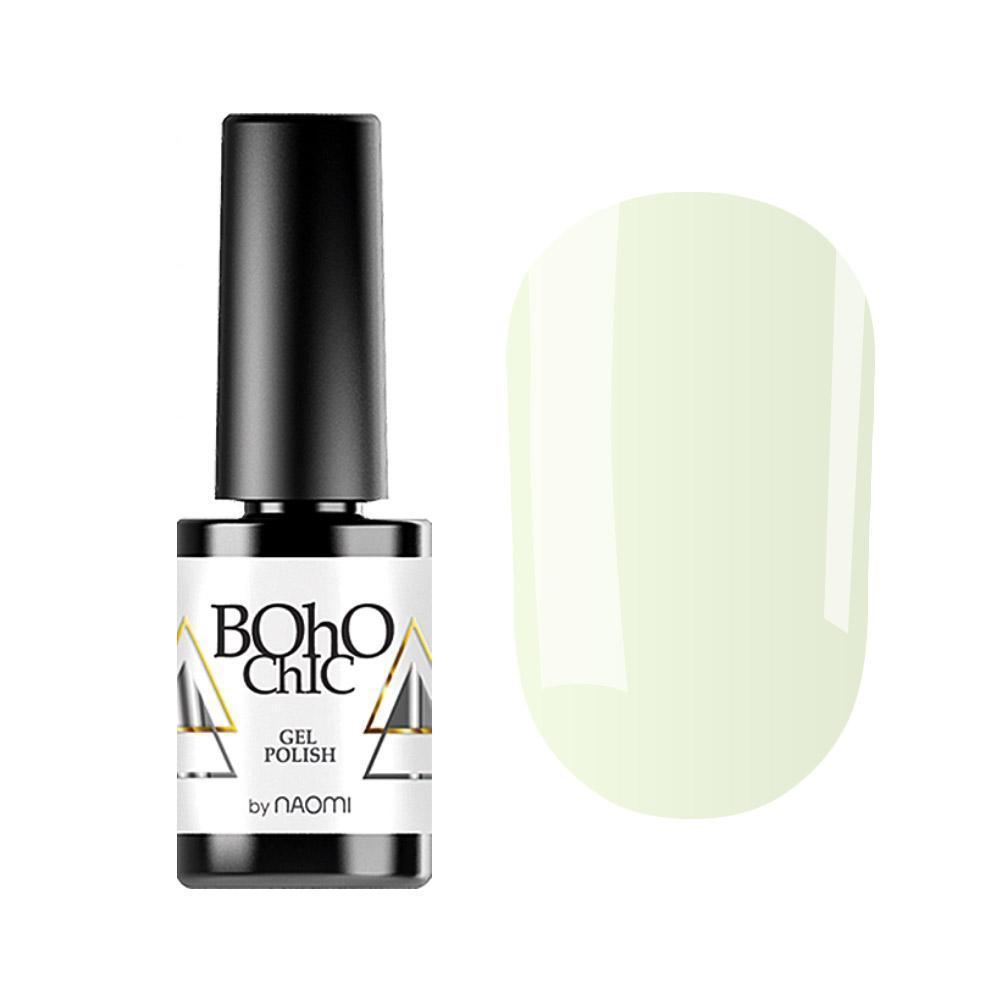 Гель-лак для ногтей Naomi Boho Chic BC098 Белый, 6мл