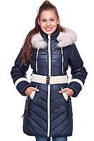 Оригинальная подростковая куртка на зиму
