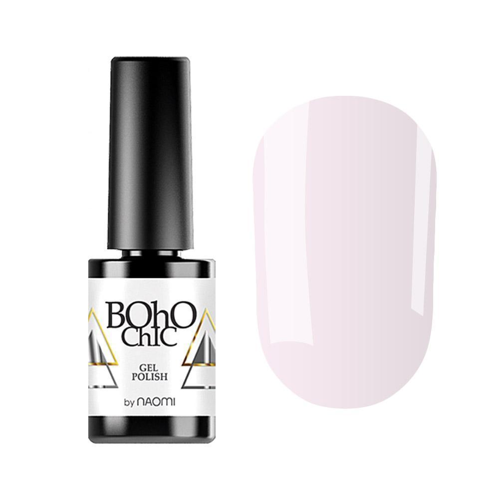 Гель-лак для ногтей  Naomi Boho Chic BC101 Нежно-розовый, 6мл