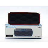 Портативная bluetooth MP3 колонка K31, фото 2