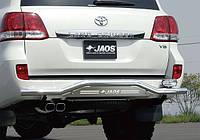Защита заднего бампера Toyota LC200