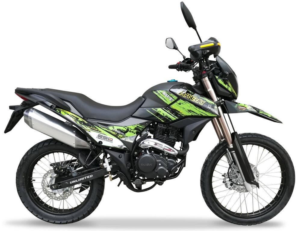 Мотоцикл Shineray XY250GY-6C Enduro Зелений