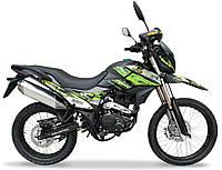 Мотоцикл Shineray XY250GY-6C Enduro Зелений, фото 1