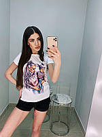 Женская футболка 3D принт