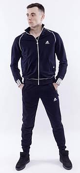 Спортивный костюм олимпийка Adidas / мужской костюм/лампас на рибане