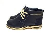 Подростковые кожаные зимние ботинки Tommy Hilfiger blue, фото 1
