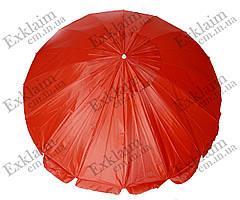 Зонт садовый 3.50 метров 16 спиц (красный)