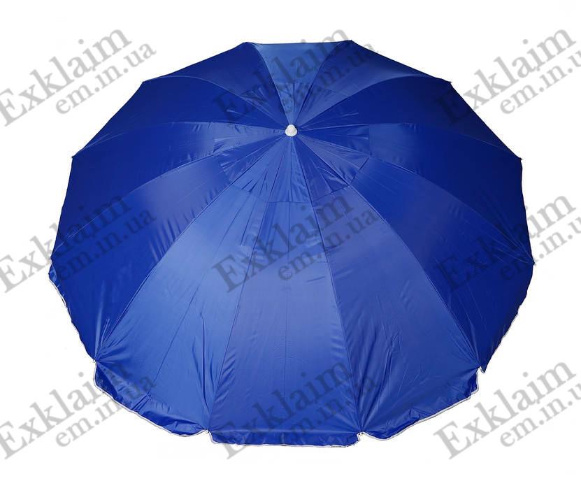 Зонт садовий 3.50 метрів 16 спиць (синій)