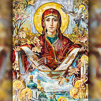 Алмазная мозаика Религия-2 30x40 TWD60002 The Wortex Diamonds Полная зашивка