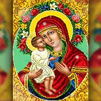 Алмазная мозаика Религия-3 30x40 TWD60003 The Wortex Diamonds Полная зашивка