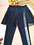 Лосины-юбка с лампасом для девочек 6-14 лет Литл стар, Little star Турция, фото 4