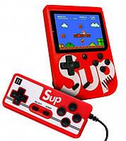 "Приставка с джойстиком SUP Game Box 3"" 400 игр Супер Марио, фото 1"