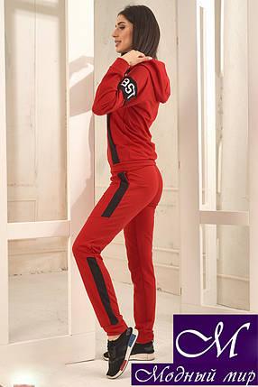 Красный спортивный костюм женский (р. 42-44, 44-46) арт. 33-664, фото 2