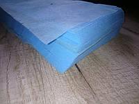 Заготовка для пошива маски, спанбонд, готовый крой, голубые