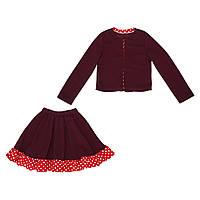 Костюм Sofushka (юбка+жакет) 0471 разноцветный