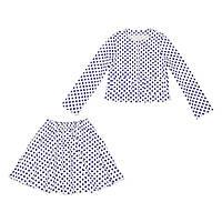 Костюм Sofushka (юбка+жакет) 0473 разноцветный