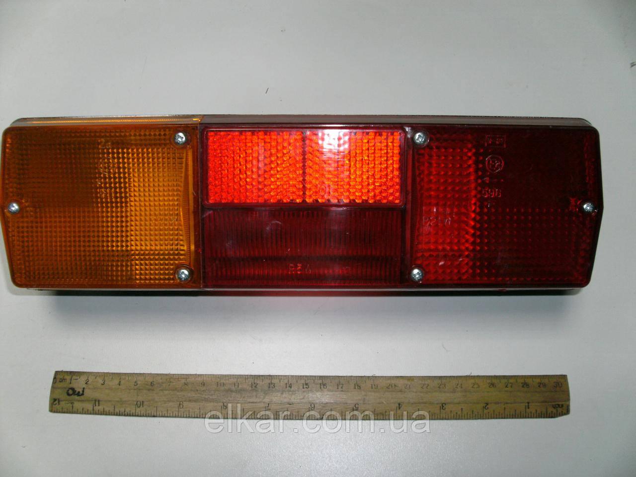 Ліхтар задній лівий (без ламп)   ФП130-3716010В (Україна)