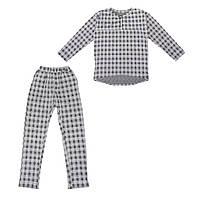 Костюм Sofushka Клетка (брюки+пуловер) разноцветный