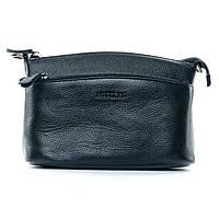Женская сумка - клатч из мягкой натуральной кожи (23*16*11 см) ALEX RAI, 1-02 2907-1 black