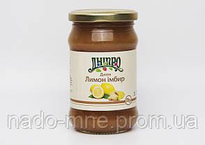 Джем Имбирь-Лимон ТМ Дніпро, 375 г