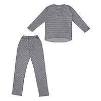 Костюм Sofushka Клетка 0484 (брюки+пуловер) разноцветный