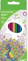 Карандаши цветные Kite 12 цветов  двухсторонние