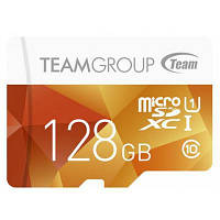 Карта памяти Team 128GB microSDXC Class 10 UHS-I (TCUSDX128GUHS02)
