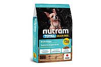 Сухой корм T28 Nutram Total Grain-Free для мелких пород собак, с лососем и форелью, без зерновой, 5.4 кг