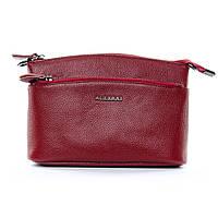 Клатч сумка женская мягкая кожа (23*16*11 см) ALEX RAI, 1-02 2907-2 bordo