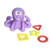 Набор игрушек для ванной «Веселое купание» фиолетовый (BATH4)