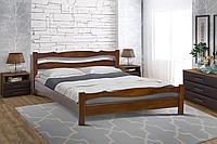 Кровать деревянная Венера 120-200 см (каштан)