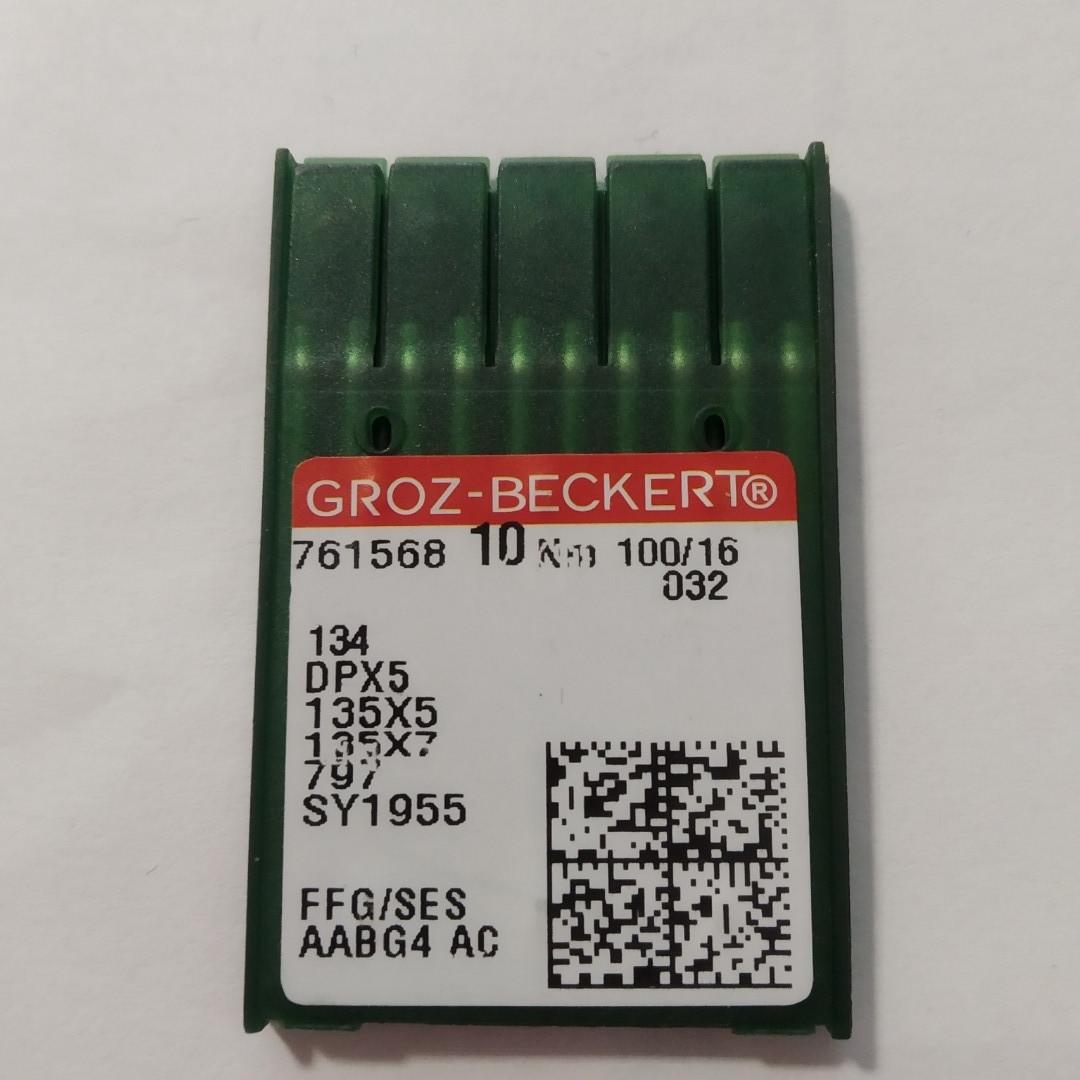 Голки Groz-Beckert 100/16.  DP5