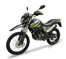 Мотоцикл Shineray XY250GY-6C Cross Зелений