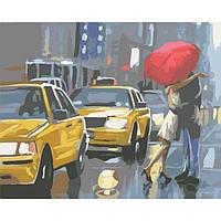 Картина по номерам, 40*50 см, Идейка. Городская романтика
