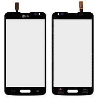 Touchscreen (сенсорный экран) для LG Optimus L90 D405 / D415, оригинал, черный