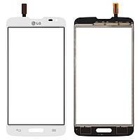Touchscreen (сенсорный экран) для LG Optimus L90 D405 / D415, белый, оригинал