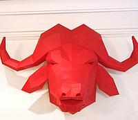 Буйвол 3Д модель papercraft