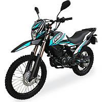 Мотоцикл Shineray XY250GY-6C Cross Бірюзовий