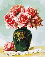 "Картина по номерам ""Букет роз"" 40*50 см, ArtStory"