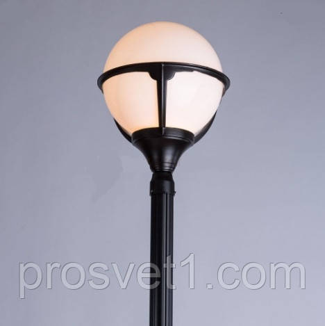 Садово-парковый светильник Arte Lamp Monaco A1497PA-1BK
