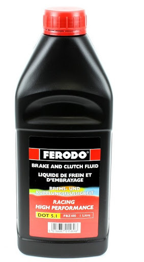 Тормозная жидкость Ferodo DOT 5.1 1 л.
