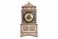 Классические часы-деревянный 3D пазл Wood trick (механический деревянный конструктор)