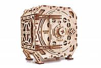 Механический Сейф-деревянный 3D пазл Wood trick (механический деревянный конструктор)