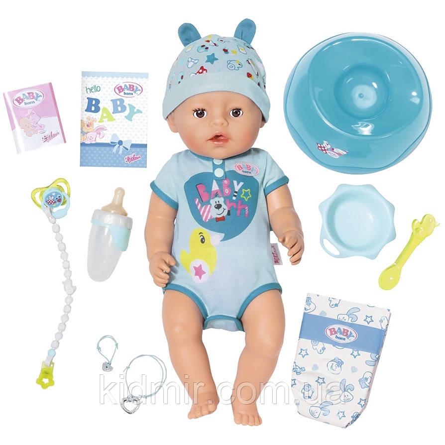 Беби Борн Кукла Очаровательный малыш Нежные объятия 43 см Baby Born Zapf 824375