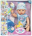 Беби Борн Кукла Очаровательный малыш Нежные объятия 43 см Baby Born Zapf 824375, фото 7