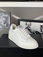 Крутые женские кроссовки Шанель (реплика), фото 1
