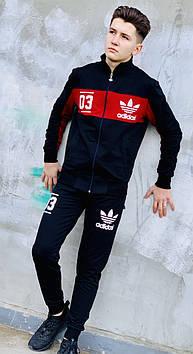 Спортивный костюм олимпийка Adidas 03 / мужской костюм
