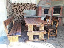 Состаренная мебель с обжигом